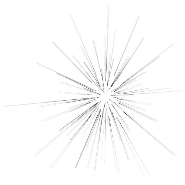 Big Burst Star vector art illustration