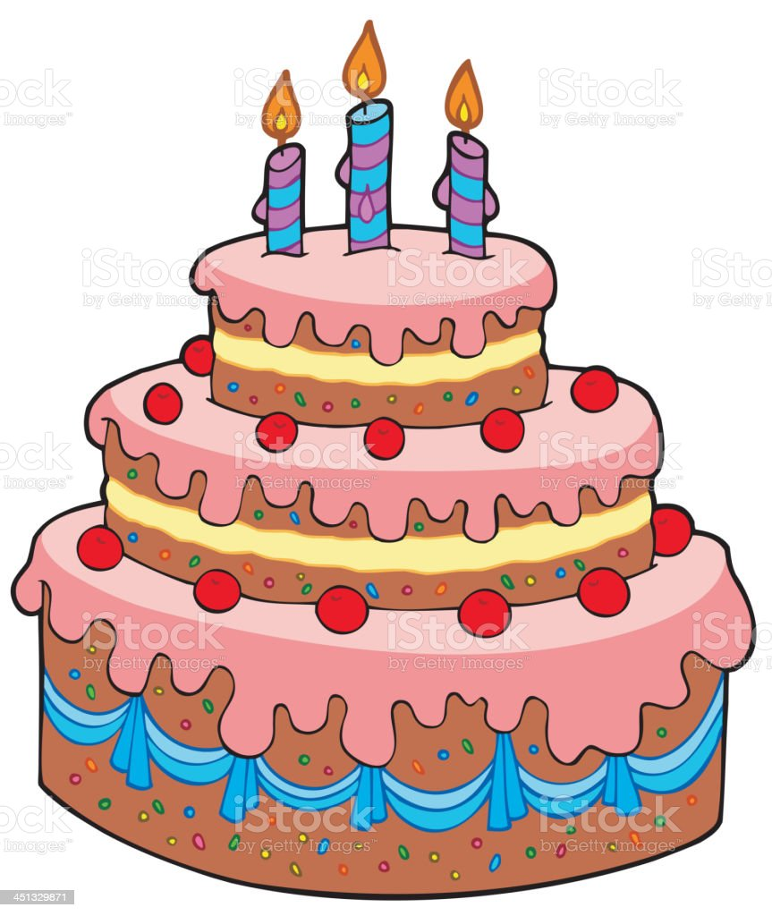 Big Birthday Cake Images Hd