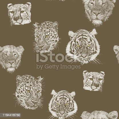istock Big Cats Seamless Repeat 1194418750