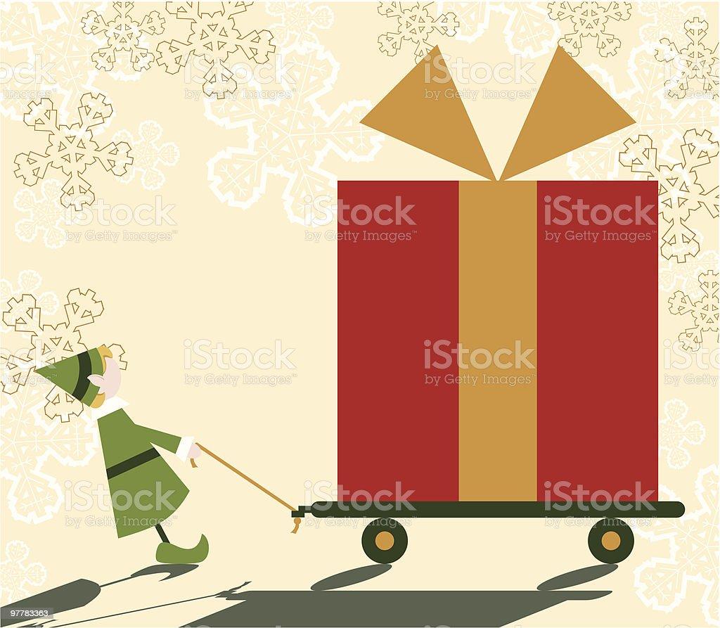 Big Christmas III royalty-free stock vector art