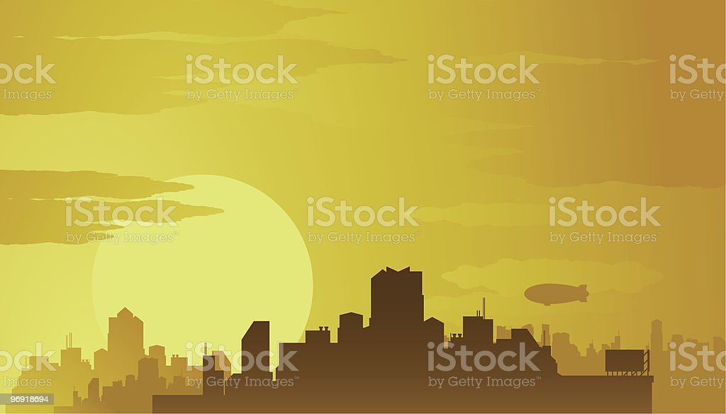 Big city background royalty-free big city background stock vector art & more images of architecture
