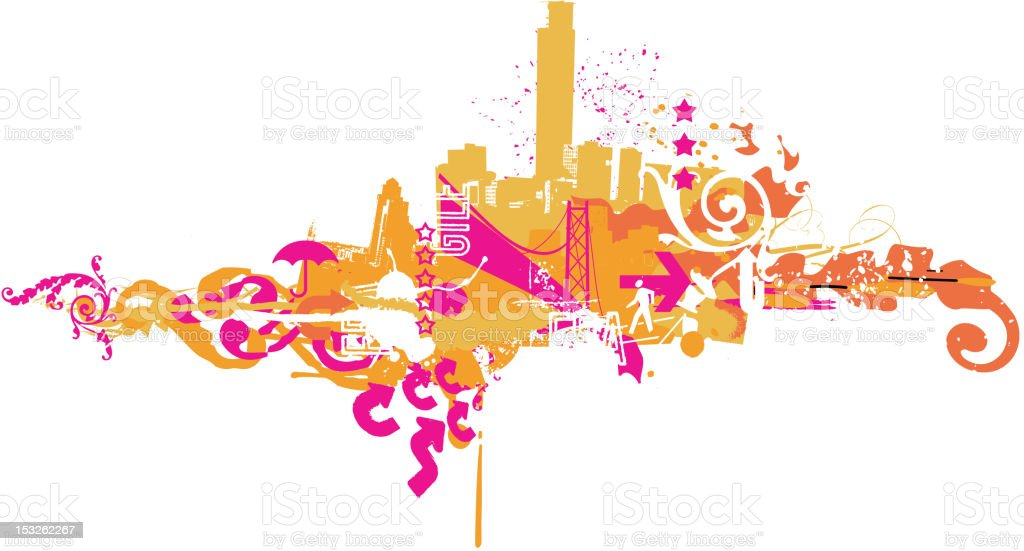 Big City royalty-free big city stock vector art & more images of abstract