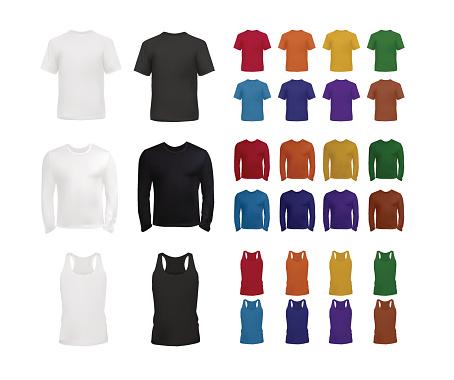 Big clothes templates set