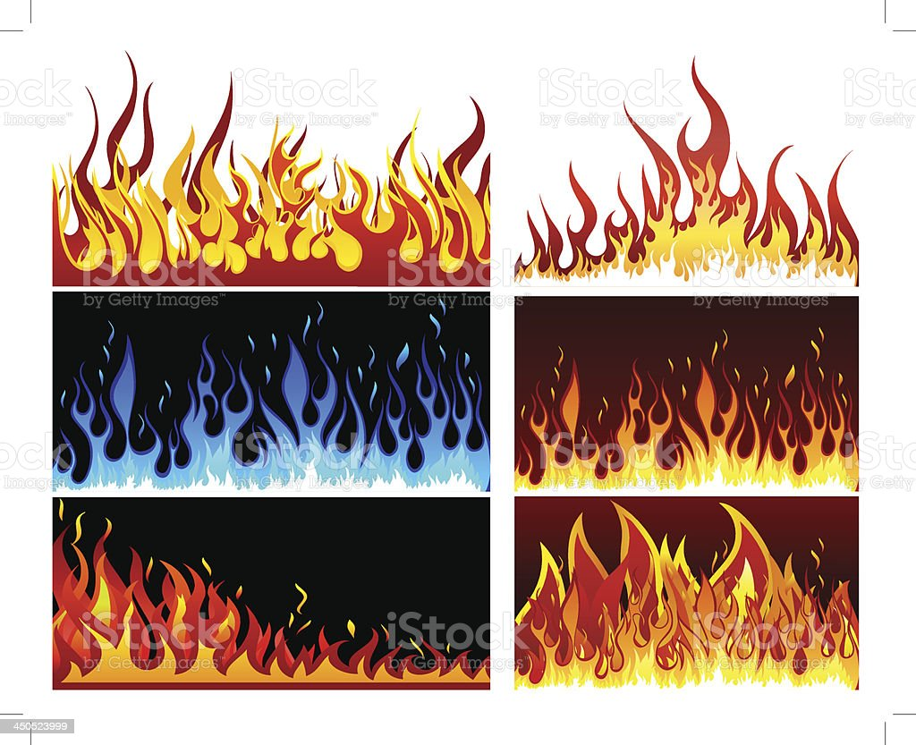 Big collection of fire elements royalty-free big collection of fire elements stock vector art & more images of abstract