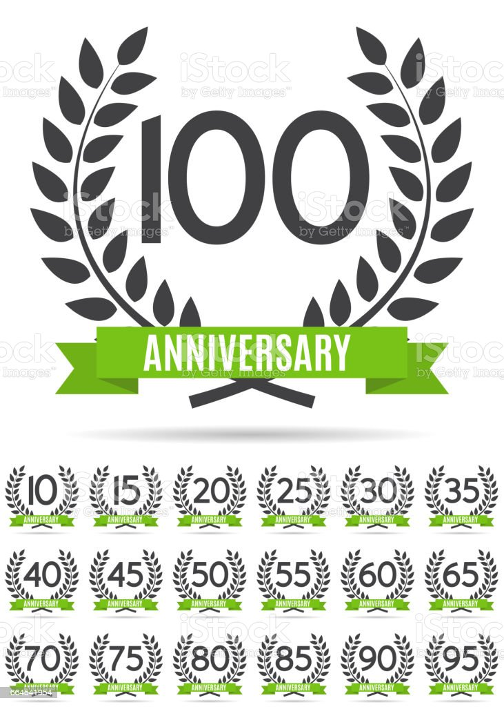 Big Collection Set of Template Logo Anniversary Vector Illustration royalty-free big collection set of template logo anniversary vector illustration stock vector art & more images of anniversary