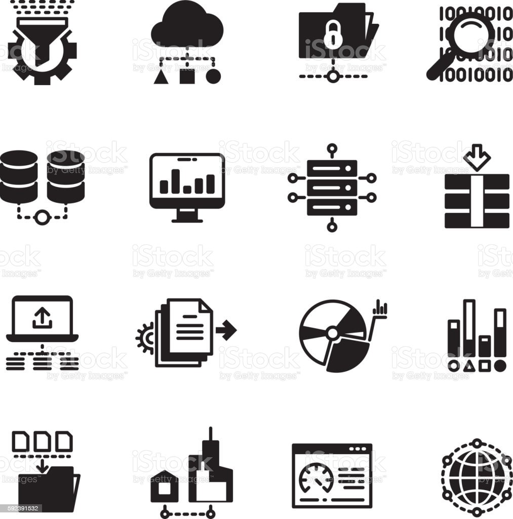 Big Data Database Analytics Cloud Computing Information ...