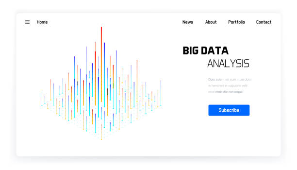 big data moderne grafik - big data stock-grafiken, -clipart, -cartoons und -symbole