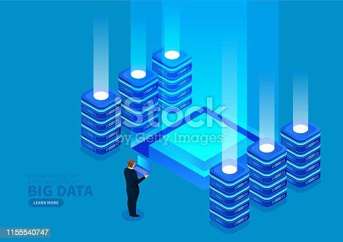 1054713428 istock photo Big data monitoring and management 1155540747
