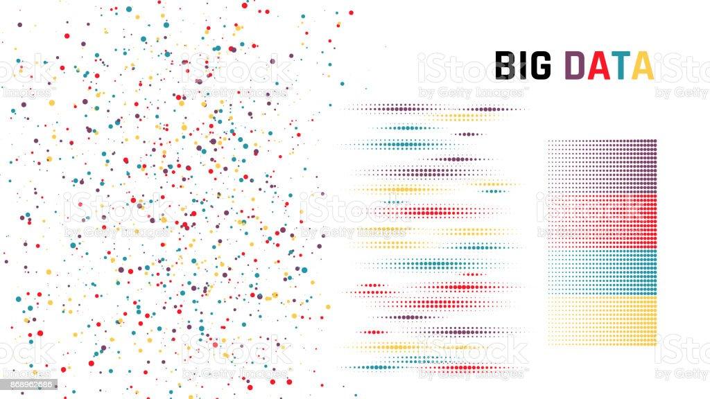 Big data. Vector