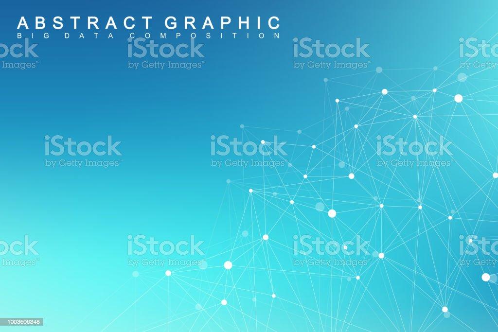 Big Data Visualization Graphic Abstract Background Communication