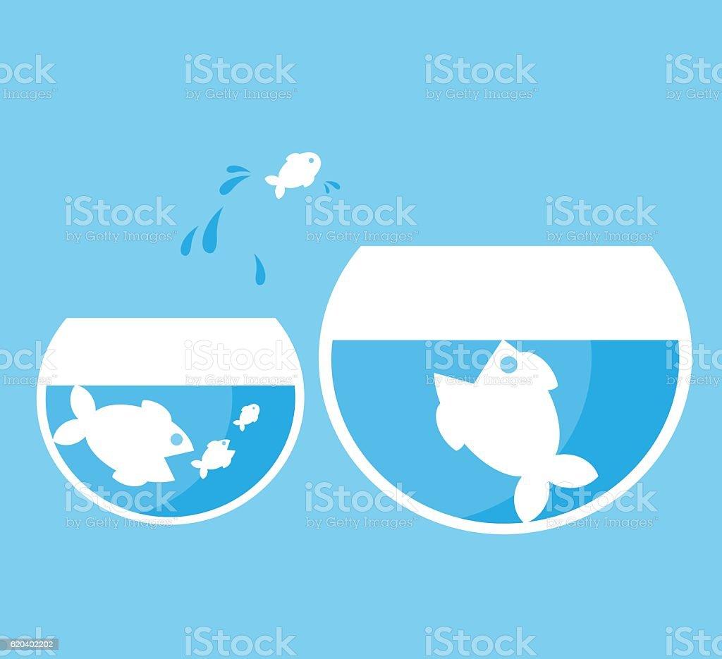 大魚のお魚 イラストレーションのベクターアート素材や画像を多数ご