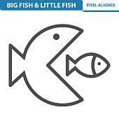 Big Fish & Little Fish Icon