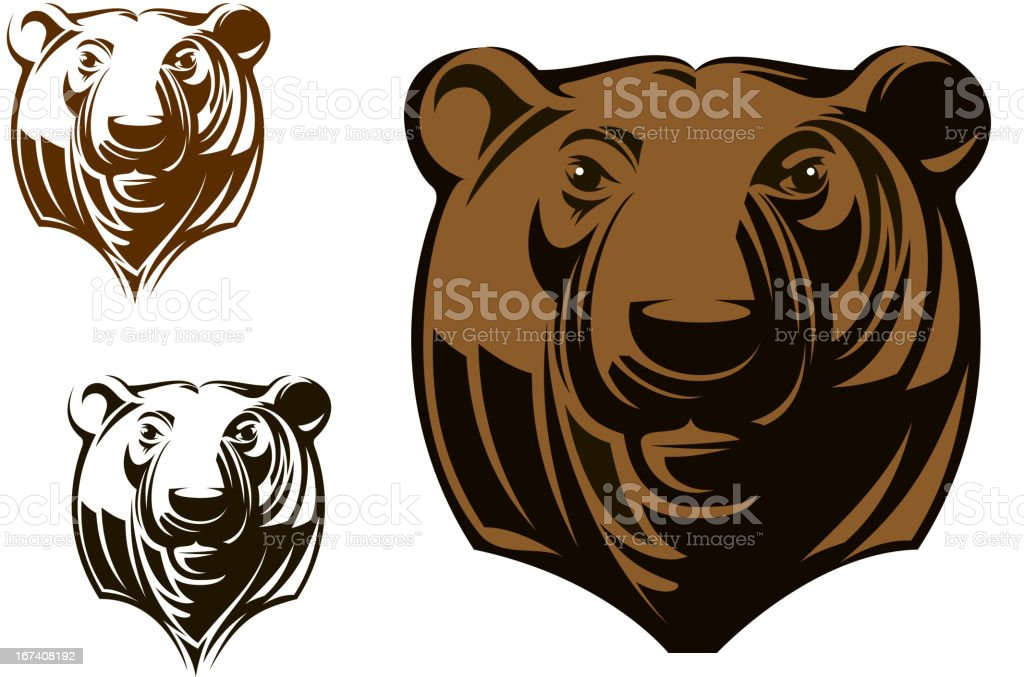 Big grizzly bear royalty-free big grizzly bear stock vector art & more images of animal body part