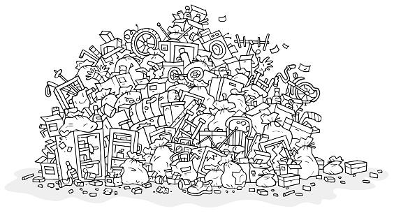 Big heap of rubbish