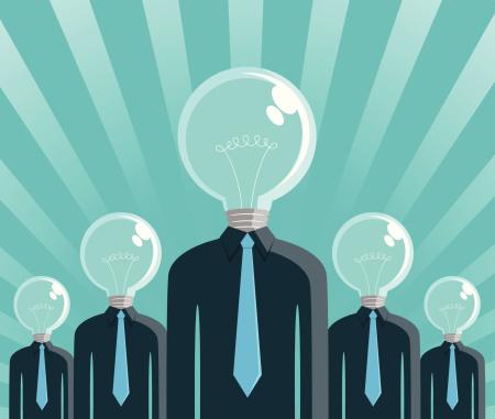 Big Idea Men Stock Illustration - Download Image Now