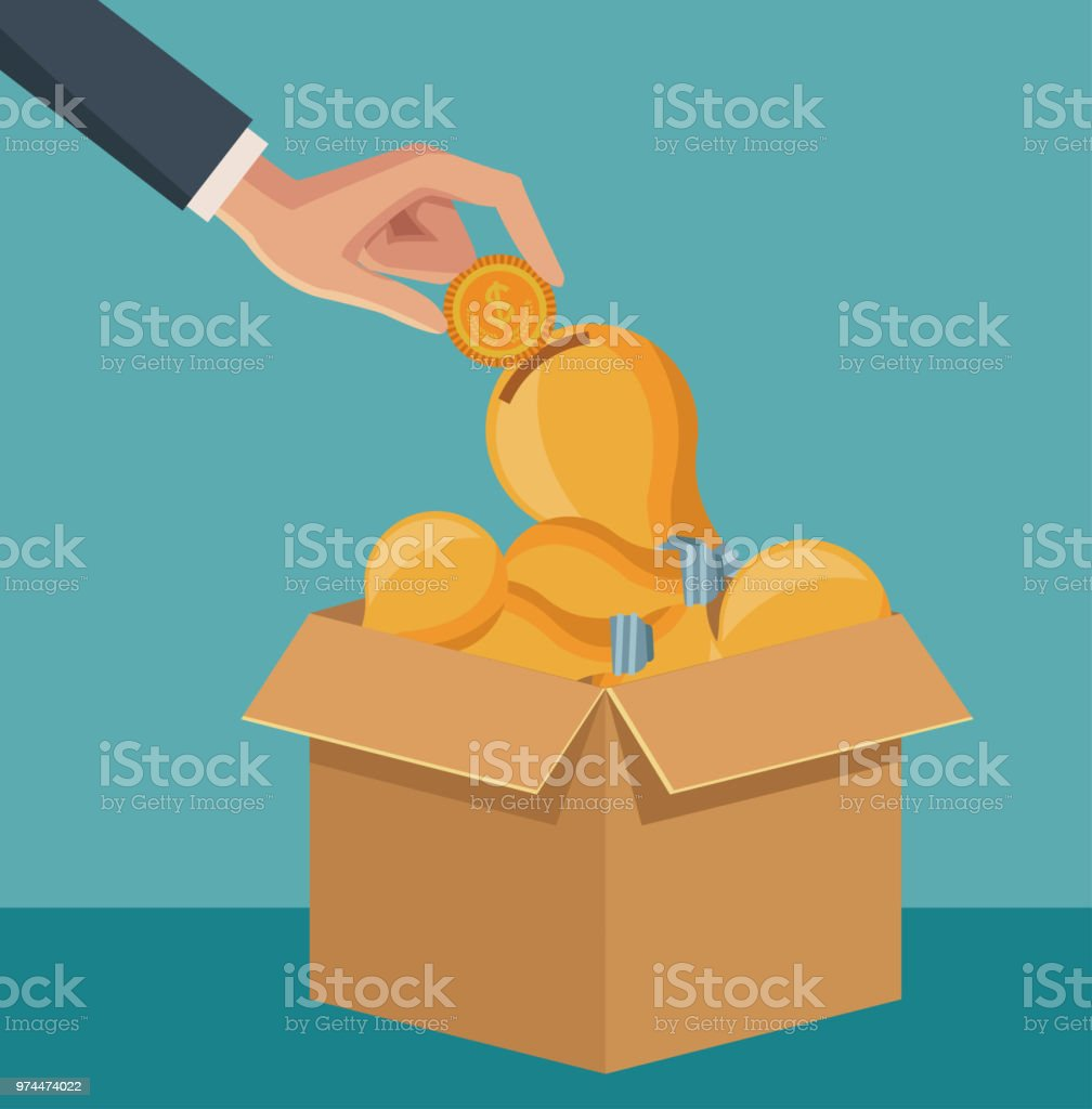 Big Ideas Concept Stock Vector Art & More Images of Coin