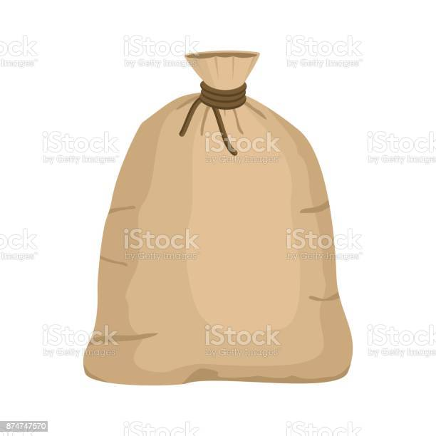 Big knotted sack full isolated on white background brown textile bag vector id874747570?b=1&k=6&m=874747570&s=612x612&h=on59znijawyae sspp60srak9idxrzaezb8n7arjojg=