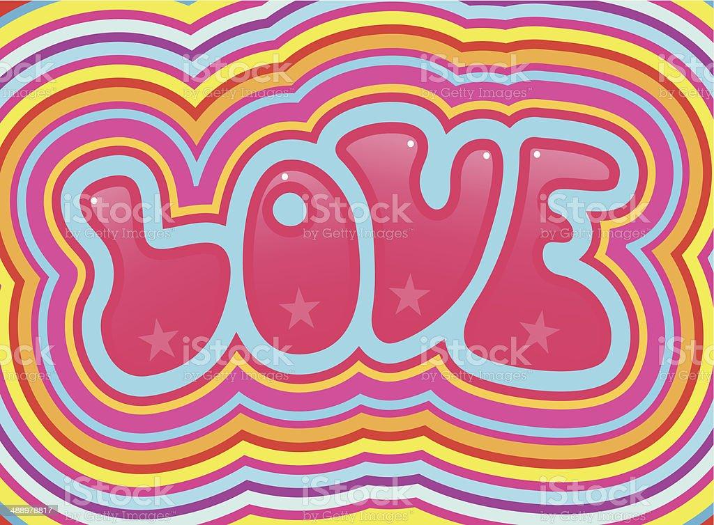 Big love royalty-free stock vector art
