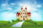 Big magnificent Castle for your design