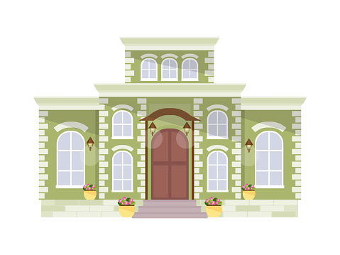 Stora Herrgården Vektor-vektorgrafik och fler bilder på Arkitekt