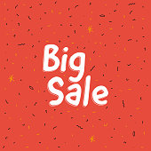 Big Sale abstract background. Vector illustration.