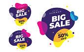 istock Big Sale Banner Design Template 1256354636