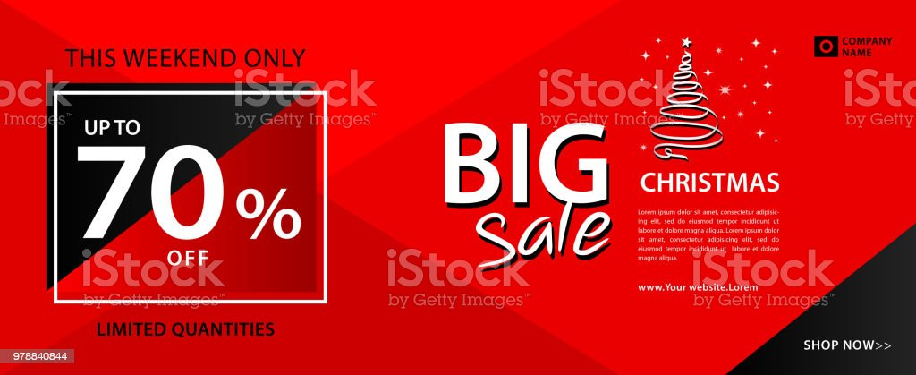 big sale banner template web banner card flyer poster advertisement