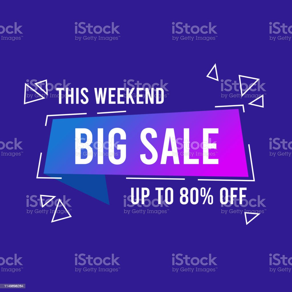 Creative sale and discount promo background