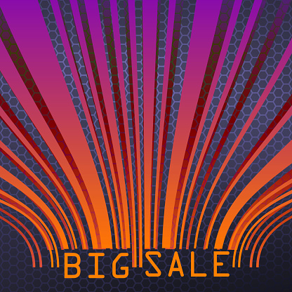 Big Sale bar codes all data is fictional. EPS 10