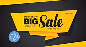 Big sale template banner