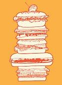 istock Big Sandwich 473329062