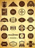 Big set of vintage Premium Quality labels. Collection 3