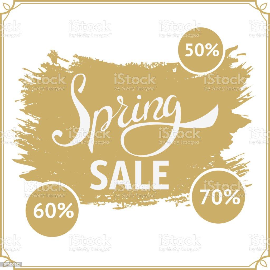 Groß Frühling Angebot 70 Rabatt Groß Verkauf Vektordesignvorlage