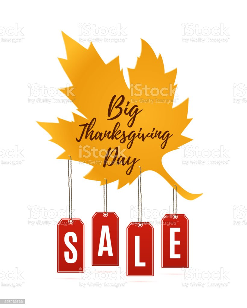 Big Thanksgiving Day sale abstract banner. royalty-free big thanksgiving day sale abstract banner stock vector art & more images of autumn