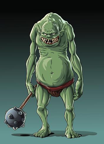 Big thin troll (orc)