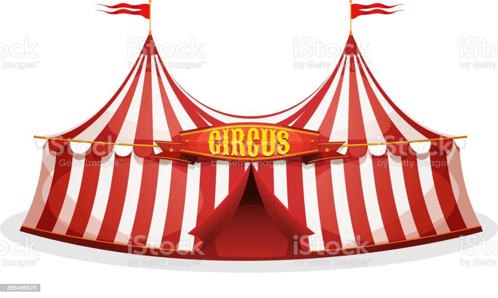 Big Top Circus Tent Stock Vector Art & More Images of ...