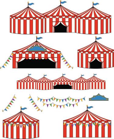 Big Top Circus/Carnival Tents