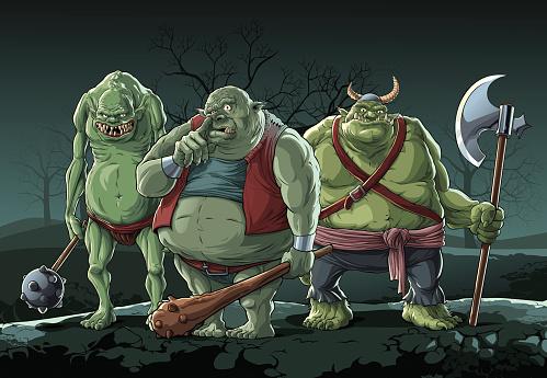 Big trolls (Orc)