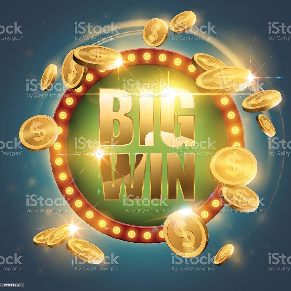 Big win banner
