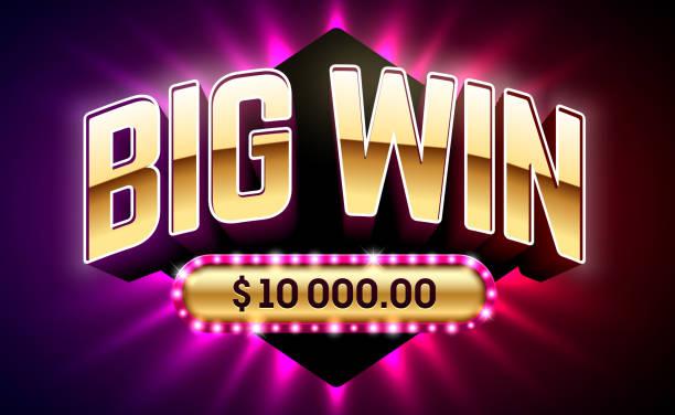 big win casino banner - groß stock-grafiken, -clipart, -cartoons und -symbole