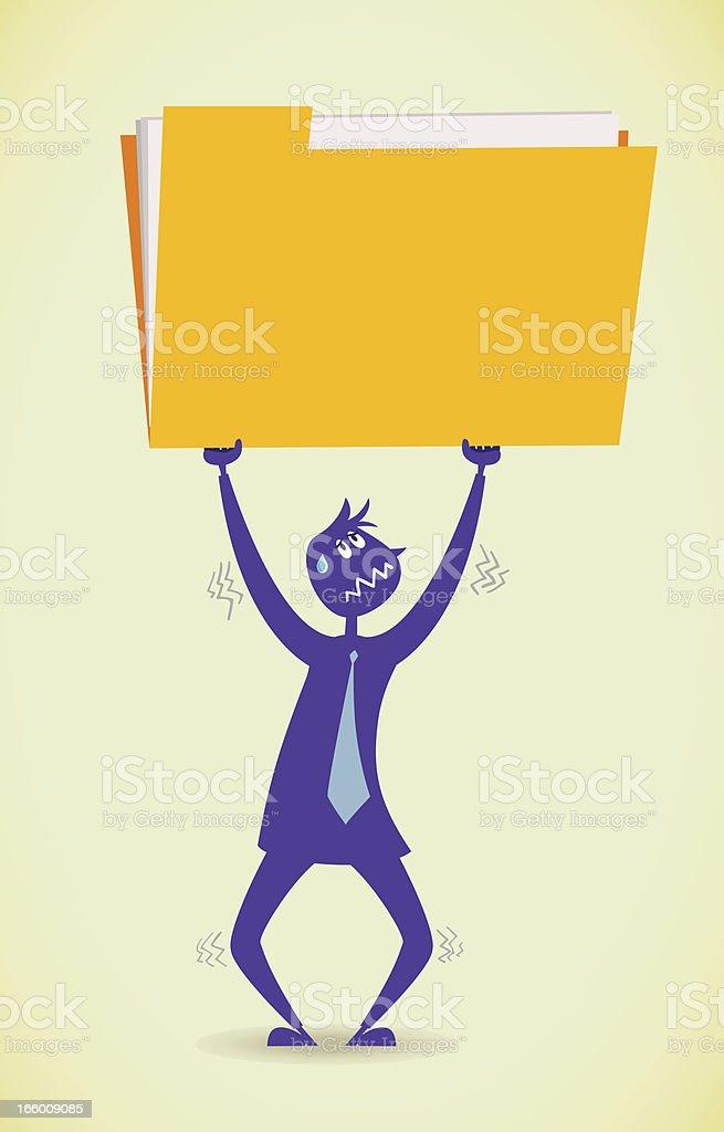 Big workload royalty-free big workload stock vector art & more images of adult