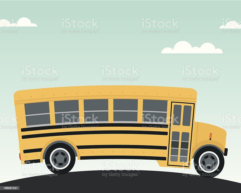 黄色 Schoolbus ベクターアートイラスト