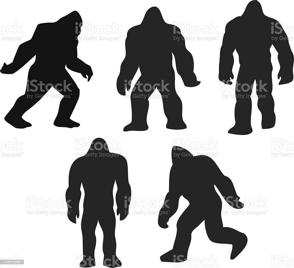 royalty free bigfoot clip art vector images illustrations istock rh istockphoto com free clipart of bigfoot