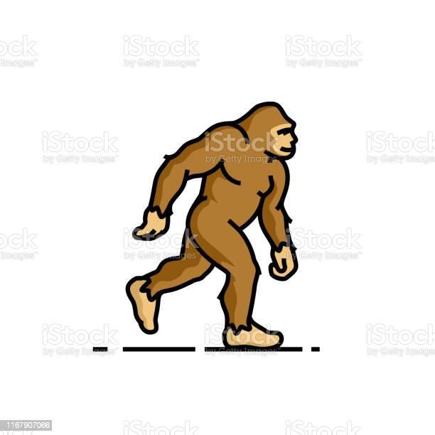 Bigfoot line icon vector id1167907066?b=1&k=6&m=1167907066&s=612x612&h=v9yynrd5bfokoc5jf3yzgwwx5ci1my3dsl4p1mj0shw=