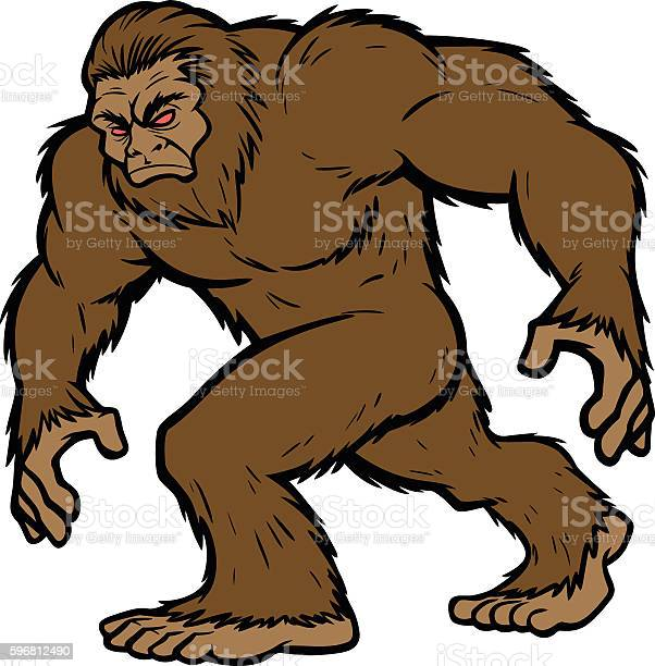 Bigfoot mascot vector id596812490?b=1&k=6&m=596812490&s=612x612&h=oiseysvoyagbtbicthda1ozyxwd9bjgy1grr y95lvq=