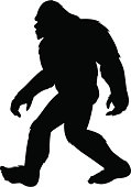 bigfoot silhouette