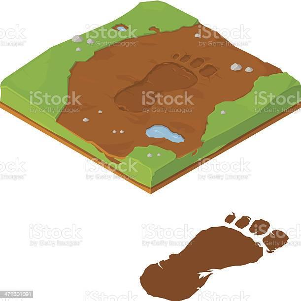 Bigfoot tracks vector id472301091?b=1&k=6&m=472301091&s=612x612&h=klmobajx32o8du58wq3scjw0alnpldhrep 7xm036q8=