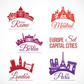 Biggest Europe capital cities