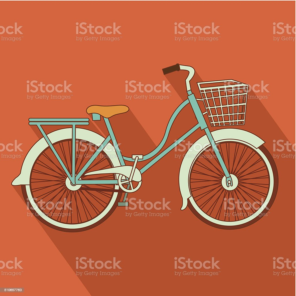 Bike design vector art illustration