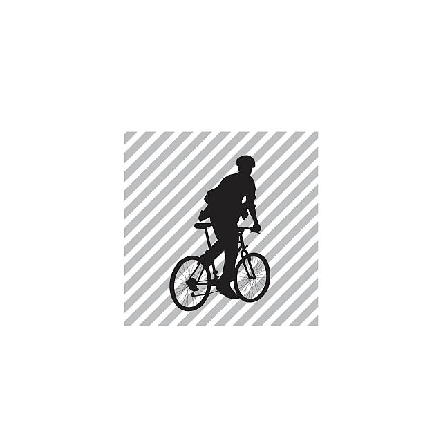 Royalty Free Bike Courier Clip Art Vector Images Illustrations